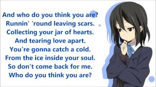 Nightcore - Jar Of Hearts (Lyrics)