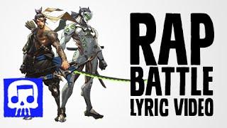 Hanzo Vs Genji Rap Battle LYRIC VIDEO by JT Machinima (Overwatch Song)