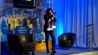 KFCSA - Marie Osmond at Rugby Park