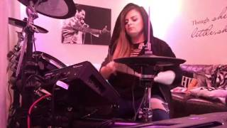 Amber Pennington- Waste a Moment Drum Cover a