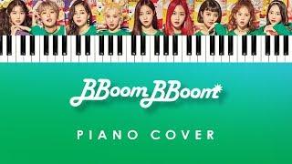 MOMOLAND - 'BBoom BBoom' (Piano Cover Instrumental)