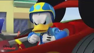 Donald pierde su bólido - Mickey: Aventuras Sobre Ruedas - Disney Junior