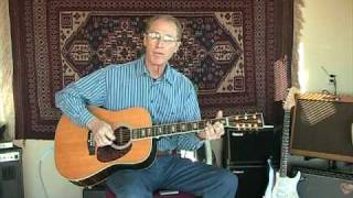 I Should Have Known Better - Beatles Finger Picking Cover Guitar Solo - Jim Wright