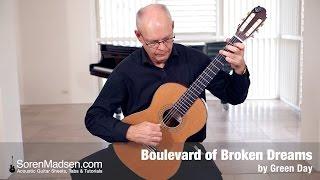 Boulevard of Broken Dreams by Green Day - Danish Guitar Performance - Soren Madsen