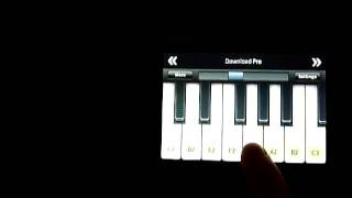 Mayhem - Freezing Moon on iPod Touch piano