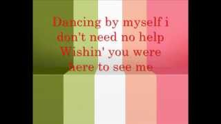 China Anne McClain Dancing By Myself Lyrics