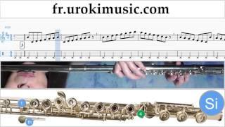 Cours de Flute Luis Fonsi - Despacito Tuto Partitions Partie#1 um-a829
