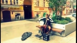 The Cranberries - Zombie (electric cello loop cover) live looping  by Loop Trigger
