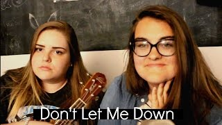 Don't Let Me Down - The Chain Smokers Ukulele Cover