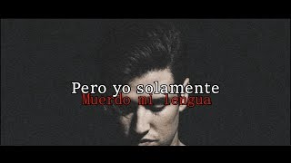 Bite My Tongue - Logan Henderson (Lyrics - Español e Ingles)