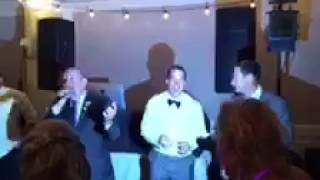 "Uncle lip syncs ""The Closing Song"" at nephew's wedding"