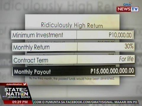 SEC: Alok ng Kapa na 30% return on investment, hindi makatotohanan