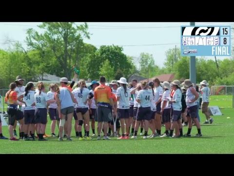 Video Thumbnail: 2018 College Championships, Women's Pool Play: UC-San Diego vs. Michigan