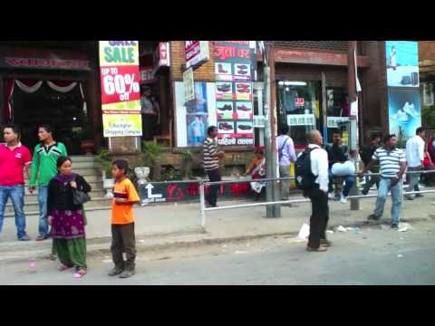 Traffic arround Kathmandu