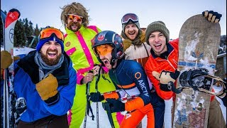 Skiing Stereotypes | Dude Perfect width=