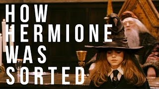 How Hermione Granger Was Sorted