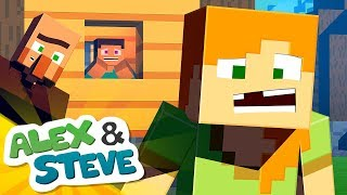 ✨ THE TOOTH FAIRY ISN'T REAL?! | The Minecraft Life of Alex & Steve | Minecraft Animation