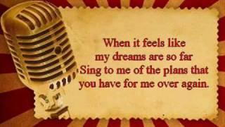 Mandy Moore - Only hope Karaoke video