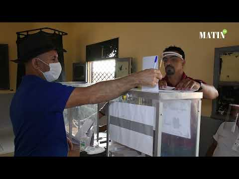 Video : Scrutin du 8 septembre : L'Ambiance du jour de vote à Berrechid