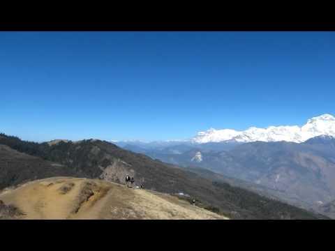 Panorama from Gurung Hill