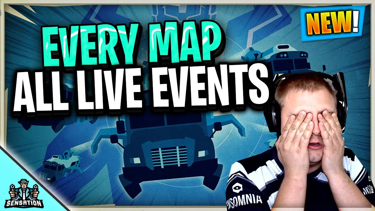 SensationLIVE - We will get to see every fortnite map & live event again in the biggest event in fortnite history