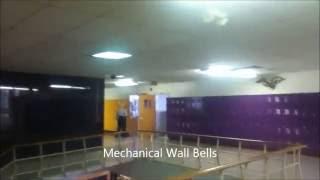 Spring 2012: Three Different bells ringing at Burges High School El Paso, TX