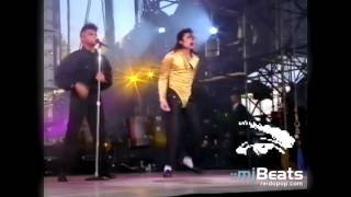 "Michael Jackson - ""Wanna Be Startin' Somethin'"" [snippet from Oslo] 1992"