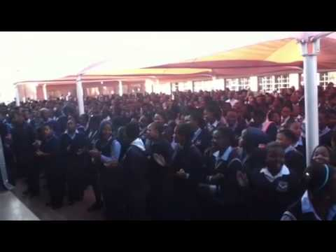 D.Kim in South Africa: Moletsane High School Welcome