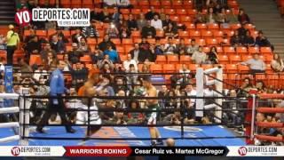 Cesar Ruiz vs. Martez McGregor Warriors Boxing Saturday January 21 UIC Pavilion