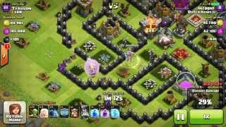Maxed Archer Queen Raids village alone. Must see