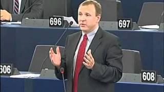 Jacek Kurski do Tuska w PE: Ma pan dzisiaj złoty róg, panie premierze