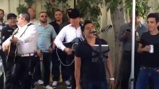 Corrido de Los Muchachos Jesus Ojeda en la guitarra y Miguel El Scrappy de Banda La Fantastica