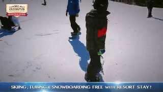 Winter in Wisconsin Dells at Mt. Olympus Resort