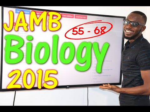 JAMB CBT Biology 2015 Past Questions 55 - 68