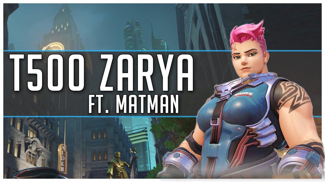 Forgiving - T500 Zarya - Good Ol' Kings Row (ft. Matman)