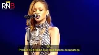 """Rihanna Se Emocinar e Chora Quando Cantar """"Stay"""" (Legendado)"""