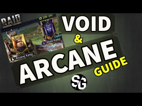 [RAID SHADOW LEGENDS] VOID & ARCANE KEEP