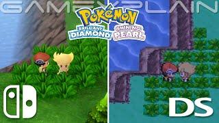 Video: Pokemon Brilliant Diamond/Shining Pearl vs. original Pokemon Diamond/Pearl comparison