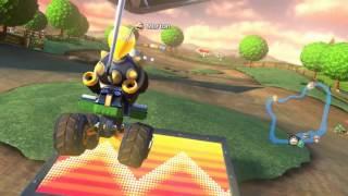 Mario Kart 8 - My epic Moo Moo Meadows balloon battle.