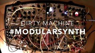 """""""Dirty Machine"""" - Live modular synthesizer jam by POB (@obrienmedia)"""