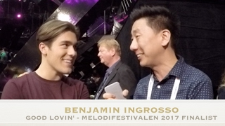 Benjamin Ingrosso - Good Lovin' - Melodifestivalen 2017 - Finalist Reaction