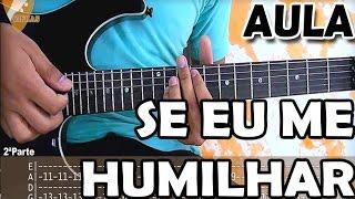 Aula de Guitarra Se eu me humilhar (Solo Gospel) Discopraise