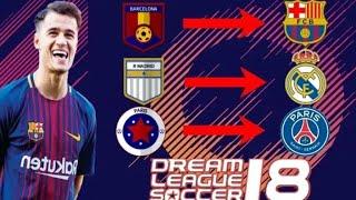 كيف تحصل على الشعارات الاصلية في لعبة dream league soccer 2018 للفرق او الاندية التي تلعب ضدها