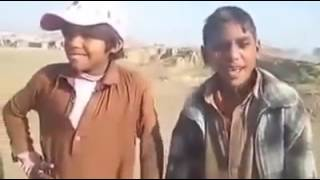 Pakistani video showing baby boys talent singing a song live