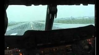 Decolagem dentro da cabine - Concorde