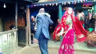 बेहुला र बेहुलीको धमाकेदार  नाच ,Behula Behuli best Dance at Panchebaja 2074/RP PRODUCTION
