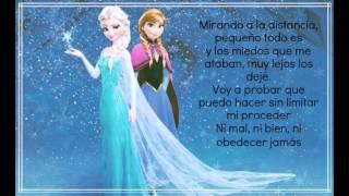 Frozen: Libre Soy (Letra) +pic