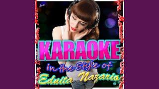 No Te Mentia (In the Style of Ednita Nazario) (Karaoke Version)