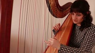 Dancing With A Stranger - Sam Smith, Normani (Harp Cover)