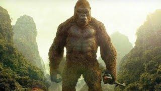 Kong Saves Giant Buffalo Scene - Kong : Skull Island (2017) Movie HD Clip